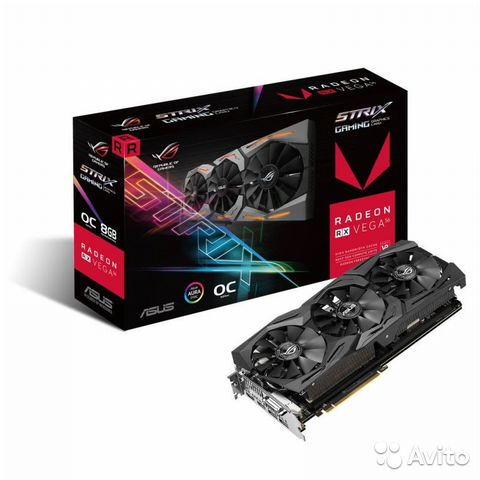 Asus rxvega56 8Gb strix gaming OC