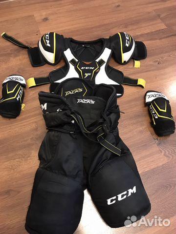 Хоккейная детская защита CCM Super Tacks YTH L