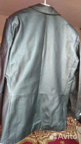 Пиджак кожаный  89024174627 купить 2