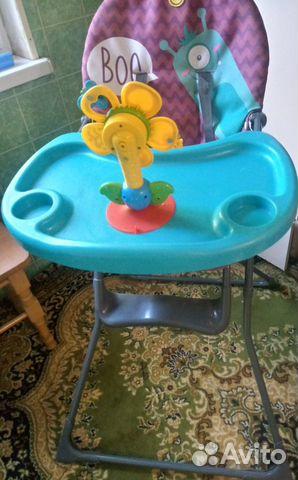 89787297371 Столик+игрушка(музыкальный цветок)