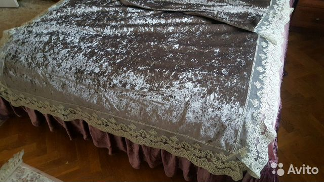 Покрывало на кровать, накидка на диван, скатерть в купить 2