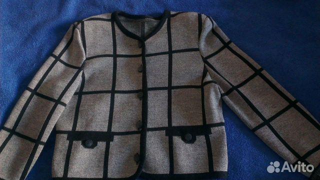 Пиджак трикотаж 89137898035 купить 4