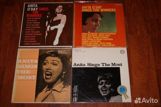Anita Sings 4LP оригиналы