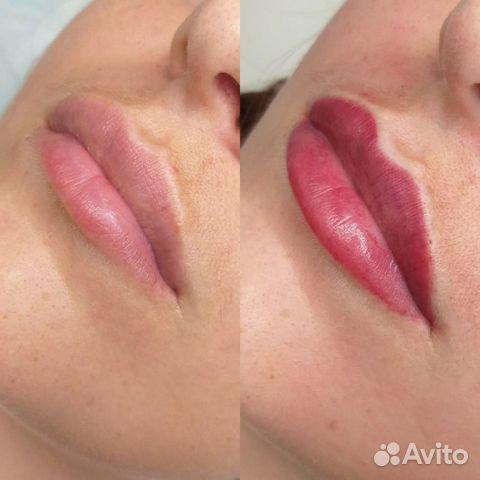 Перманентный макияж бровей (татуаж)  89275558544 купить 6