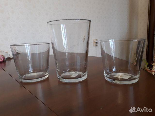 Кашпо из стекла 89028700169 купить 1