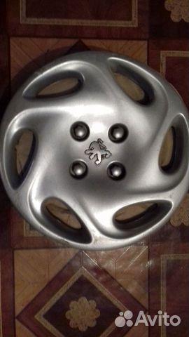 Колпаки Peugeot 14 оригинал, 3 шт., заводские 89616992624 купить 2