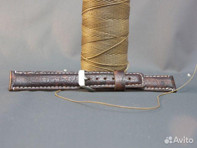Изделия из кожи Ручная работа Ремешок на часы