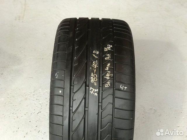 89380001718 265/40/18 Bridgestone Potenza RE050A(7mm) -1шт
