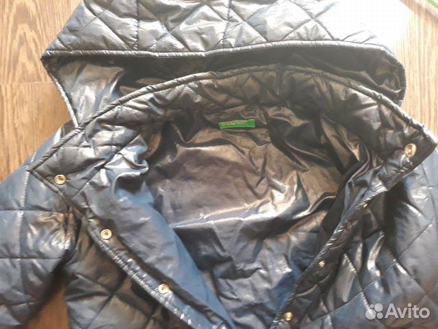 Куртка осенне-весенняя 10-12 лет 160 см Benetton 89814760626 купить 2