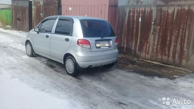 Daewoo Matiz, 2012 89115603931 купить 4