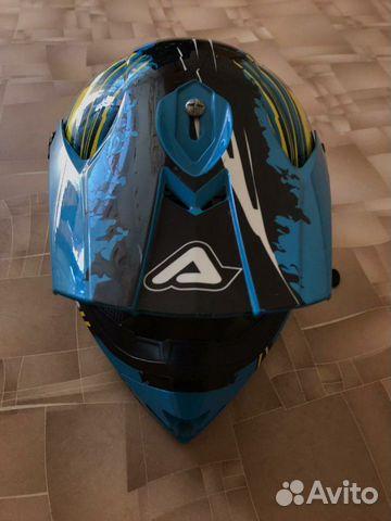 Шлем Acerbis X-Pro, Brush (крепл, GoPro) мотоэкип 89119787672 купить 5