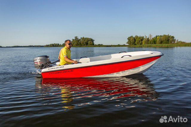 Лодка Кайман 350М. Производство Антал