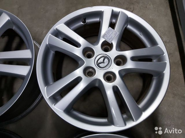 Mazda MPV 16 6.5j et+50 (5*114.3) цо 67.1мм  89833884506 купить 4