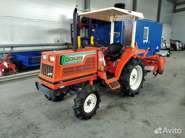 Трактор hinomoto N209  купить 6