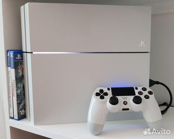 Playstation 4 + last of us 2  купить 1