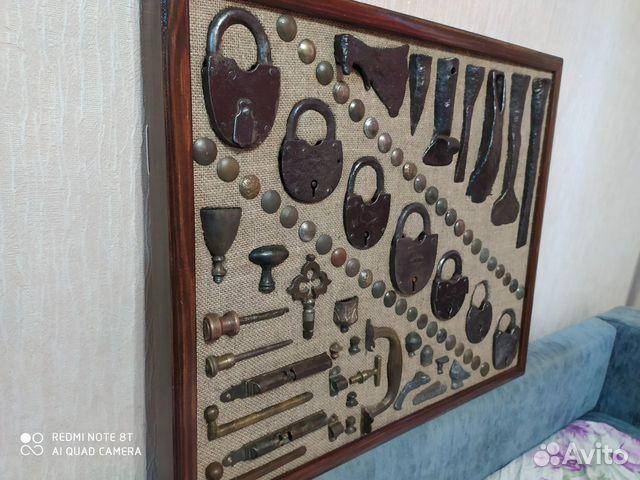 Панно из старинных предметов быта, конины  89033713097 купить 4