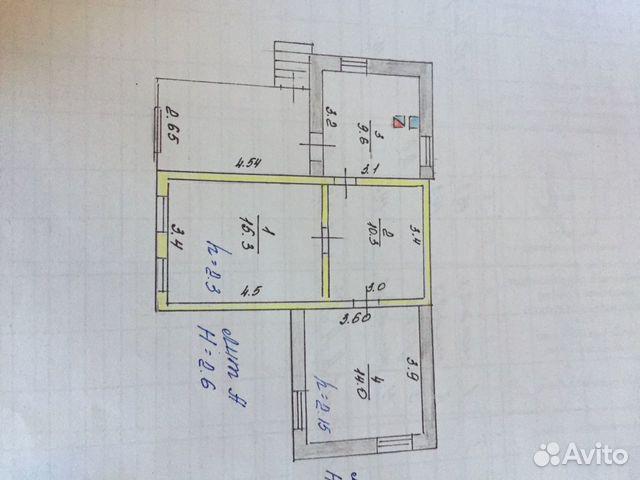 Дом 50 м² на участке 16 сот.  89093012025 купить 2
