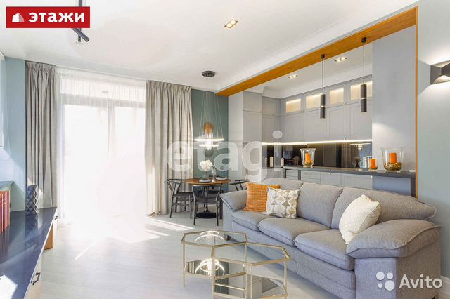 3-к квартира, 86.4 м², 4/9 эт.  89214656341 купить 1