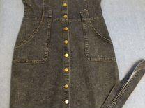 Платье джинсовые