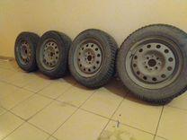 Зимние колеса в сборе Cordiant polar — Запчасти и аксессуары в Саратове