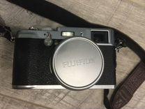 Fujifilm FinePix X100 с кожаным футляром — Фототехника в Москве