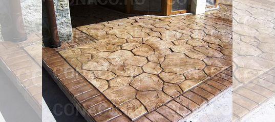 Купить штамп для печатного бетона в воронеже доставка бетона заказать