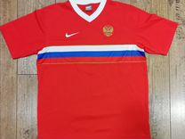 Футболка Nike сборной России 2004 оригинал — Одежда, обувь, аксессуары в Санкт-Петербурге