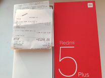 Red mi 5 plus Black 4/64