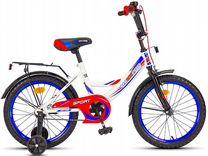 Велосипед 18maxxpro, красно-белый