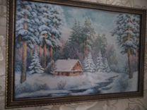 Картины ручной вышивки крестиком