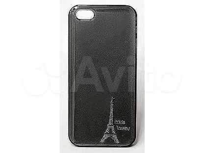 Чехол-накладка для iPhone 5\5S\SE paris tower PU глянц чер А0022668