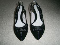 Туфли женские,замшевые
