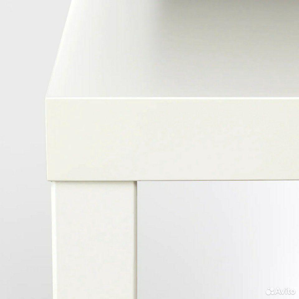 Лаккпридиванный столик, белый55x55 см  89632945800 купить 4