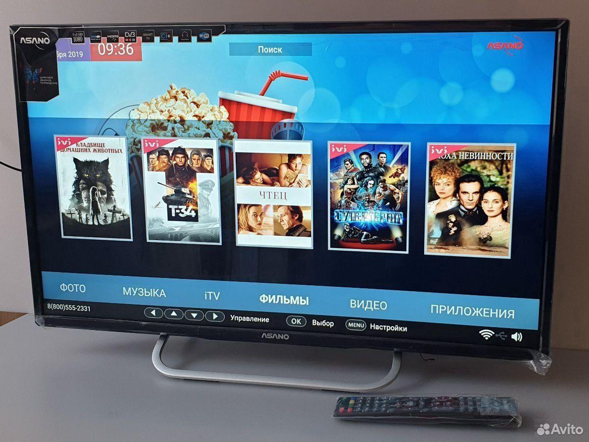 Новый отличный 32 ЖК телевизор с смартом 2020 года  89530952866 купить 1