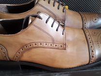 Мужская обувь из натуральной кожи