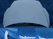 Капот форд фокус 2 2008-2011 в цвет беоый 7vta