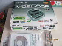 Материнка Gigabate GA-M52L-S3P