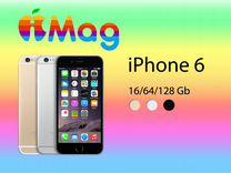iPhone 6 16/64/128gb Оригинал Все цвета Гарантия