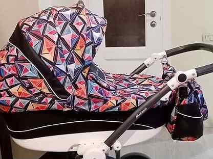 Детская коляска 3 в 1 Bebetto Murano с автокреслом