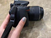 Зеркальный фотоаппарат Nikon D5200 Kit 18-55 VR — Фототехника в Москве