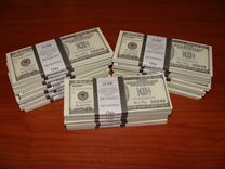 Билеты банка приколов 100 Dollars Кино
