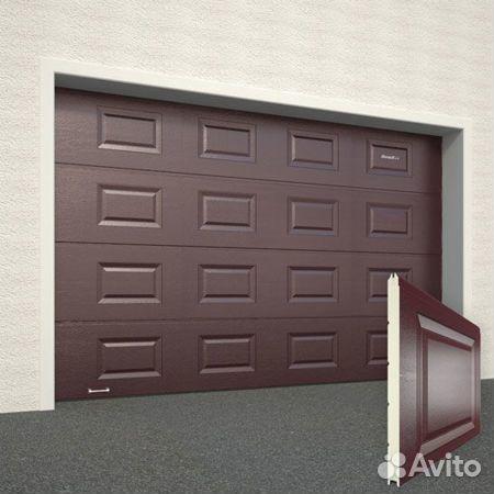 Секционные ворота  89137508634 купить 1