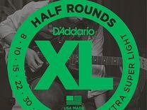 Комплект струн D'Addario EHR330 Half Round