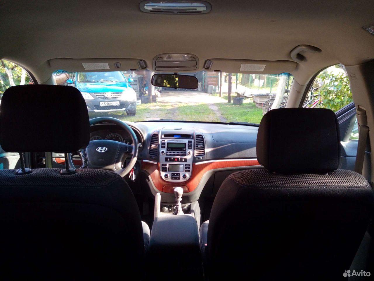 Hyundai Santa Fe, 2008  89097960302 купить 3