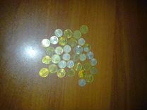 Монеты разные СССР и РФ 90-х годов(35 шт)