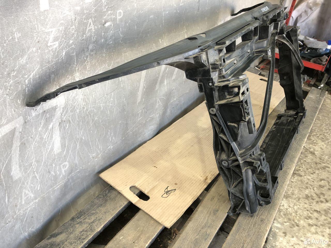 Панель передняя Skoda Octavia A7 б/у оригинал  89257556682 купить 2