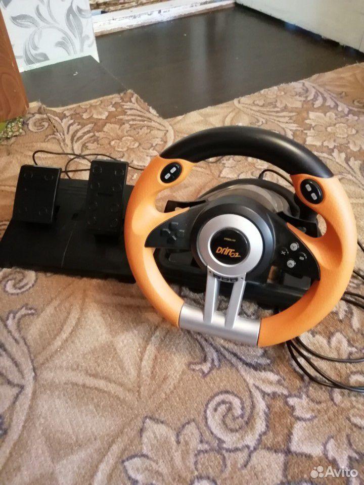 Руль игровой drift02 spidlink  89224220041 купить 5