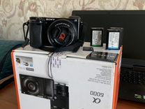 Sony a6000 kit 16-50 — Фототехника в Геленджике
