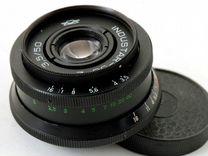 Индустар 50-2 с переходником на Canon Nikon Sony