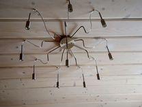 Люстра паук лофт стиля новая